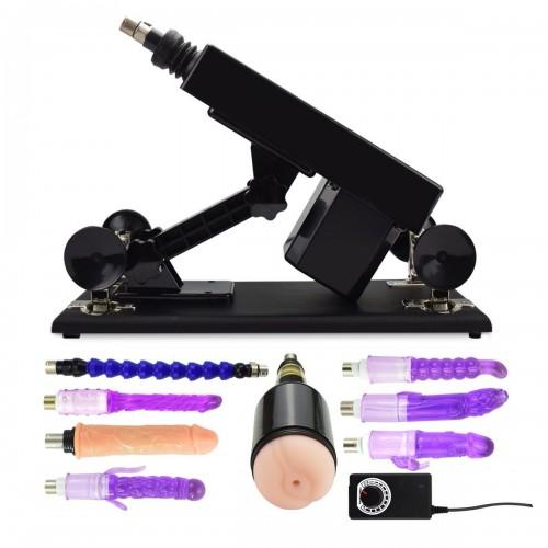 Multiple Speed Adjustable Sex Machine Gun Masturbation Device