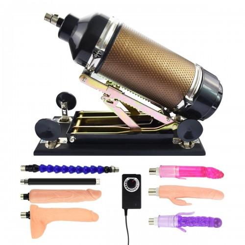 sex machine - kvinnlig onani maskin sex leksak med stora dildos