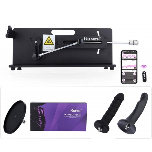 Hismith Table Top 2.0 Pro - Sex Machine Premium avec APP / Remote / Wire - Bundle