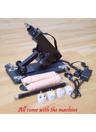 Machine rétractable automatique de sexe avec l'adaptateur universel