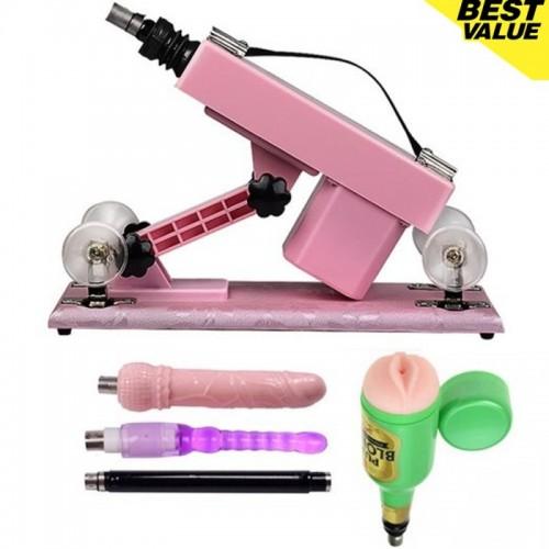 Hismith Adjustable Speed Automatic Love Machine-Pink